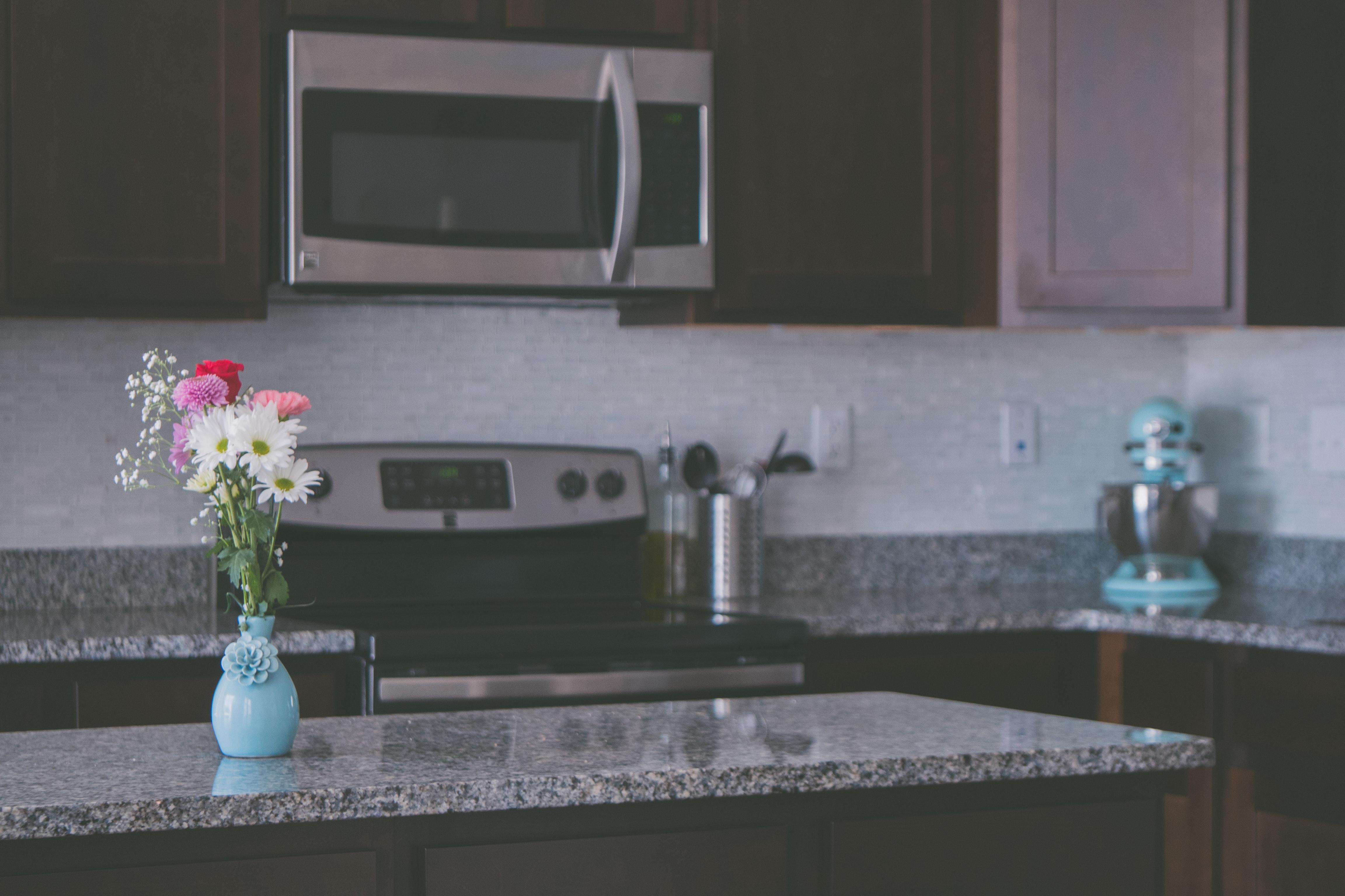 plan de travail de cuisine en granit